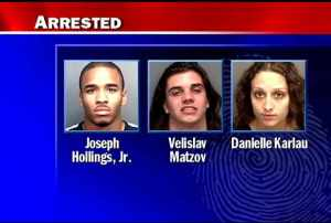 Three Suspects in Attempted Murder at a Blockbuster Video in St. Petersburg, FL 2008