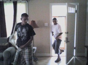Austin thieves caught on a webcam. Photo c/o austinist.com